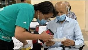 Teman Malaysia freelancer help elderly with hospital appoinments
